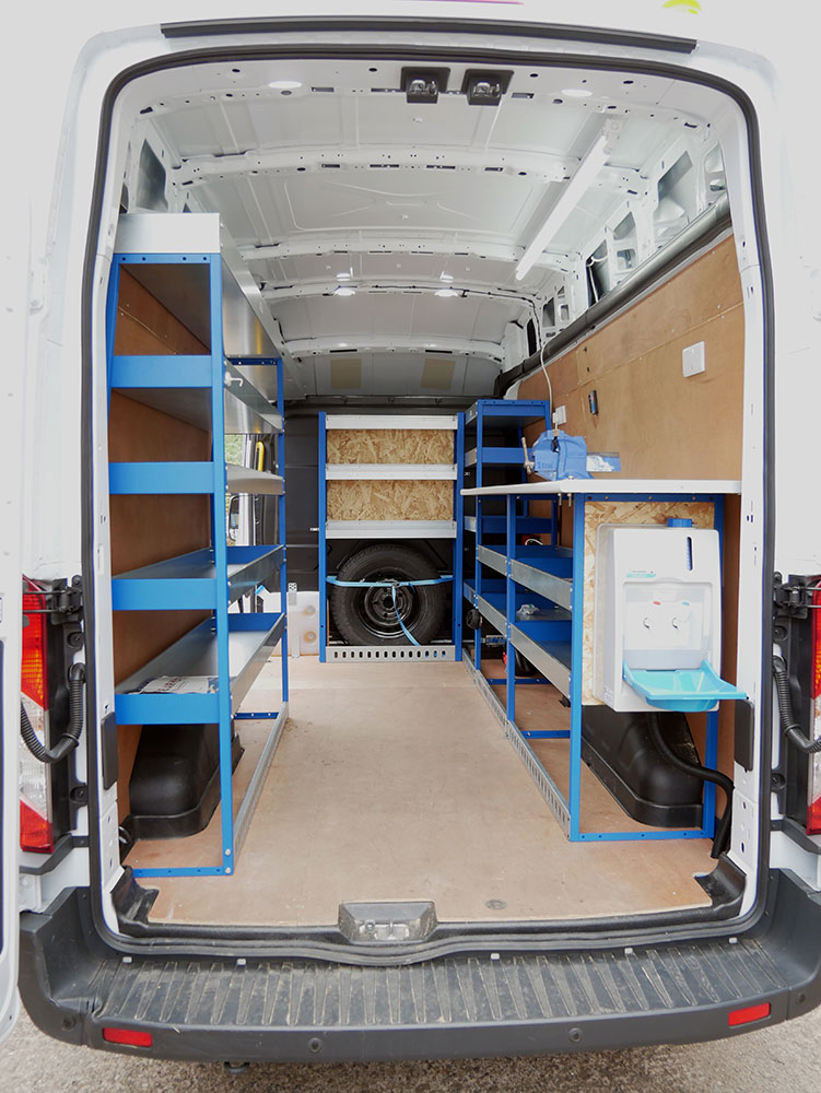 Fibre Optic Splicing Vehicle Van Conversion